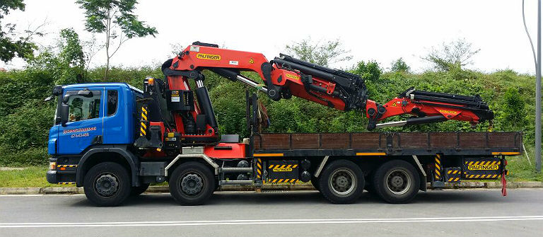 Yong Sheng | Best Lorry Crane and transportation service in